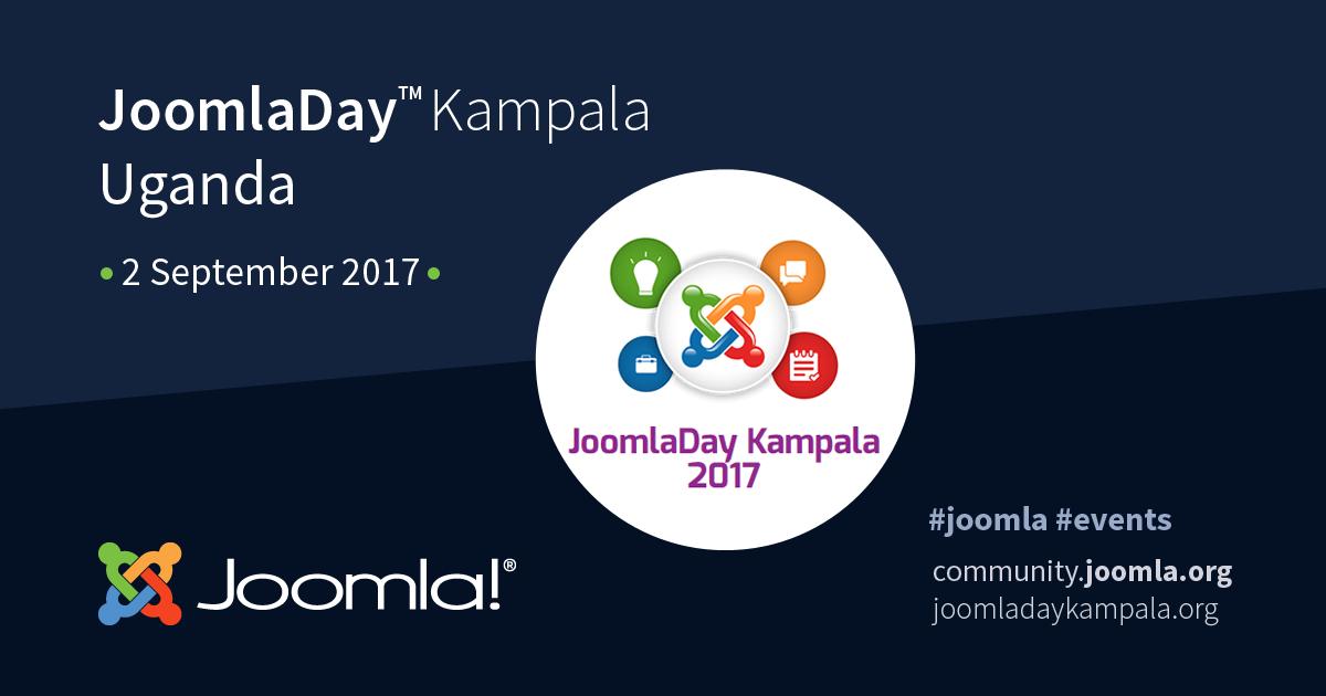 JoomlaDay Kampala Uganda - 2 September 2017