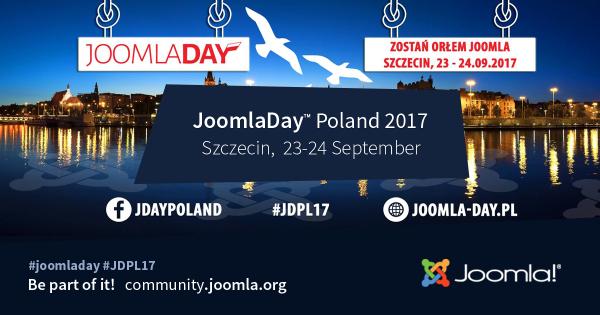 JoomlaDay Poland - 23 & 24 September 2017