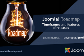 Joomla! Roadmap - Timeframes and release features