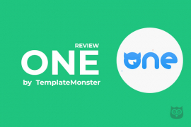 One by TemplateMonster Review - Is it Really Worth to Invest in It?