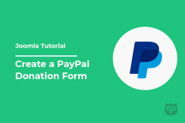 How to Create a PayPal Donation Form on Joomla Site?