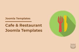 20+ Cafe & Restaurant Joomla Templates