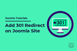 How to Add 301 Redirect on Joomla Site