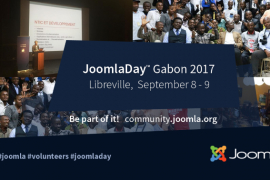 JoomlaDay Gabon 2017 - September 8th 2017