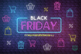 Black Friday Deals for Joomla Hosting - Save Upto 75%