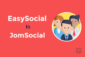 JomSocial Vs EasySocial - Which one is better?