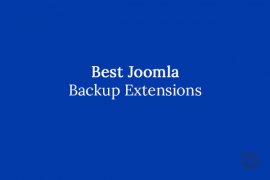 5 Best Joomla Site Backup Extensions