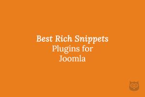 Best Rich Snippets aka Schema Plugins for Joomla