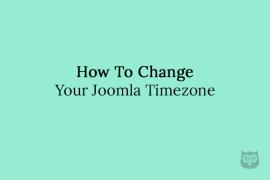 How To Change Your Joomla Timezone