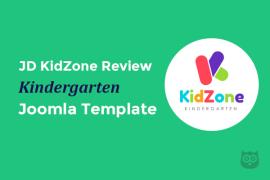 JD KidZone Review - Kindergarten Joomla Template for Play School Websites With Page Builder