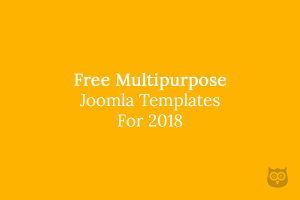10+ Best Free  Multipurpose Joomla Templates of 2019