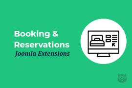 Best Booking & Reservations Joomla Extensions of 2020