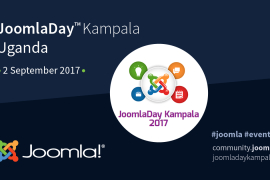 JoomlaDay Kampala Uganda - 2 September 2017
