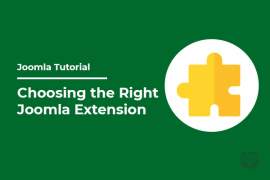 Things You Need to Check Before Choosing the Right Joomla Extension