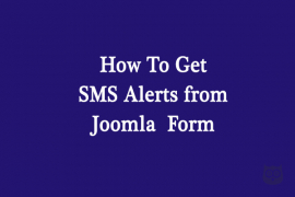 How to Get an SMS Text Message From Your Joomla Form