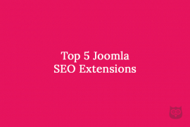 Top 5 Joomla SEO Extensions