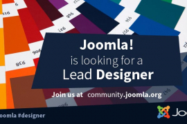 The Joomla Marketing Team is looking for a Lead Designer