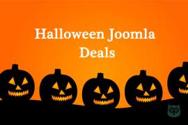Halloween Joomla Deals 2018  - Save Huge this Holiday Season
