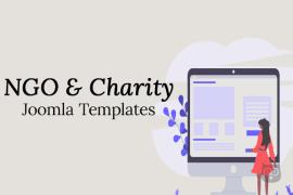 NGO & Charity Joomla Templates - Latest from the Market