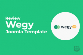 Wegy Joomla Template - Best Multipurpose Joomla Template