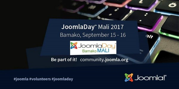 JoomlaDay Mali 2017 - September 15th 2017