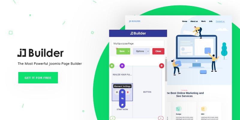 JD Builder Joomla Page builder