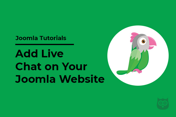 How to Add Live Chat on Your Joomla Website (Using Tawk.to)