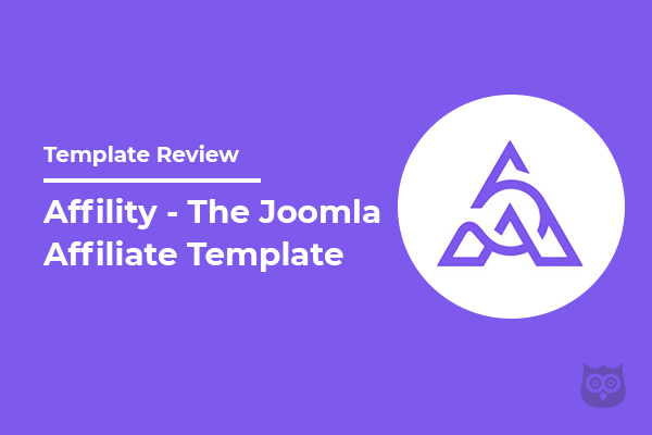 Affility Template Review - Best Joomla Template for Affiliate Marketing