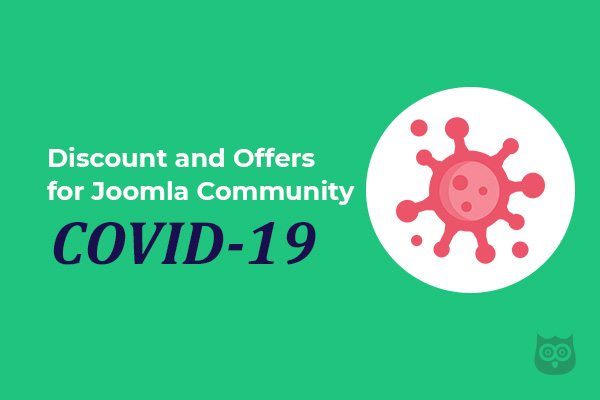 Stay Home & Stay Safe - Discount and Offers for Joomla Community During COVID-19