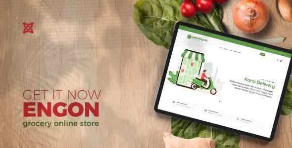 Engon Grocery Online Store Templates
