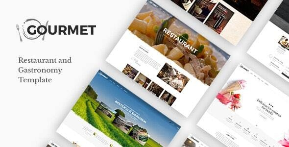 Gourmet Restaurant and Food Joomla Template
