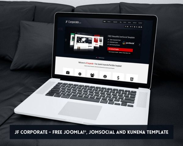Multi-purpose business Joomla template