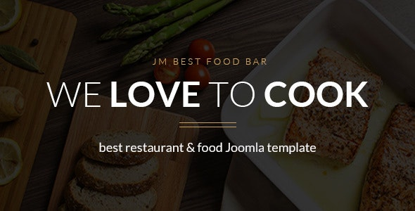 JM Best Food Bar restaurant Joomla template