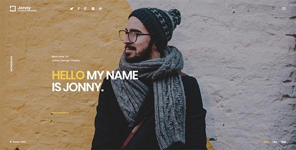 Jonny Joomla Template