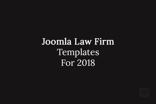 10 Best Joomla Law Firm & Legal Advisers Templates