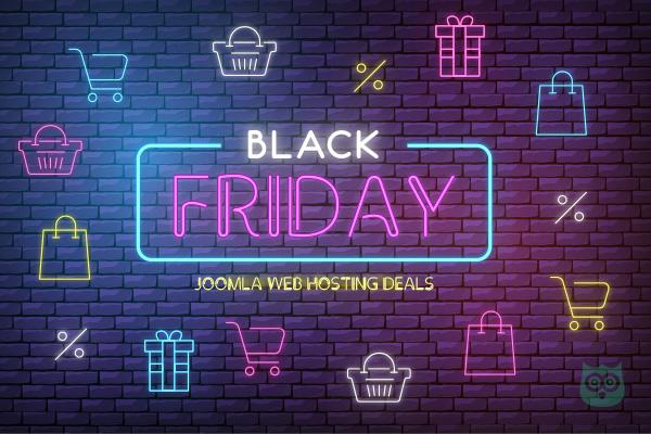 Black Friday Deals for Joomla Hosting - Save Upto 75%