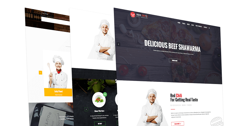 RedChili Joomla Template