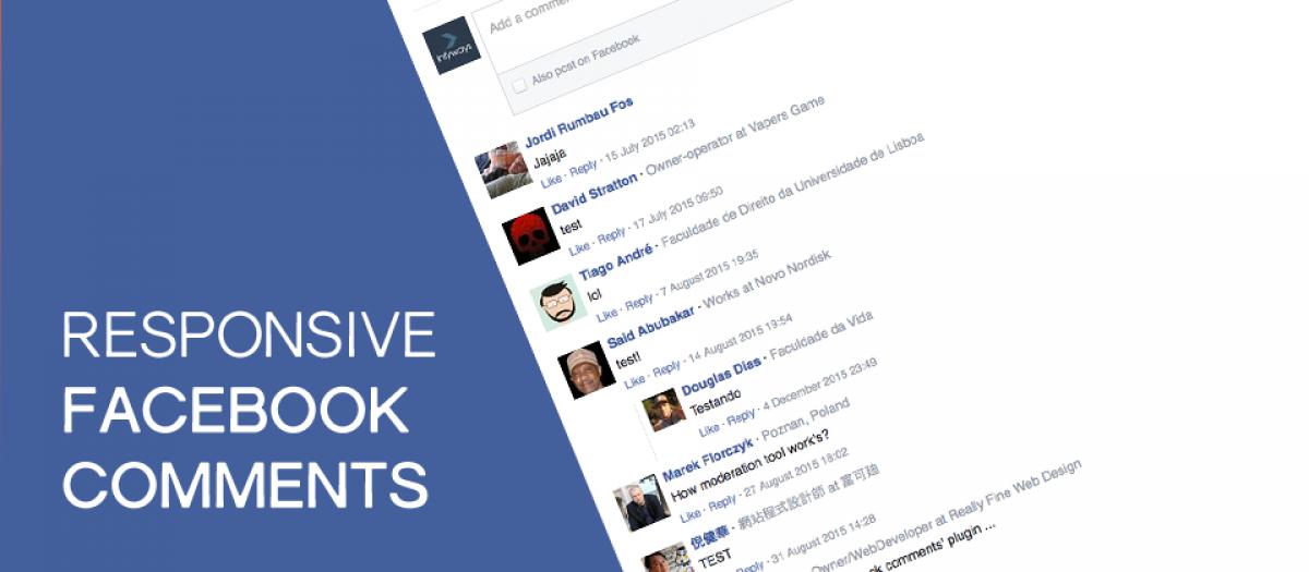 Responsive FB Comments