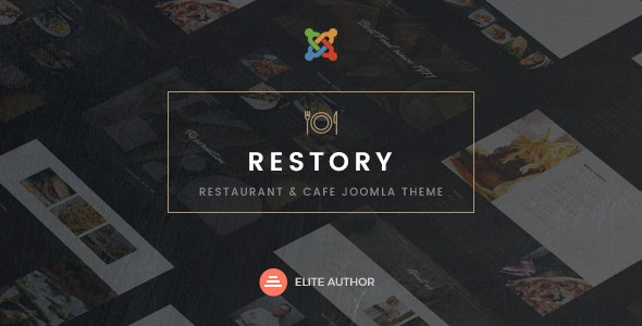 Restory Restaurant Cafe Joomla Template