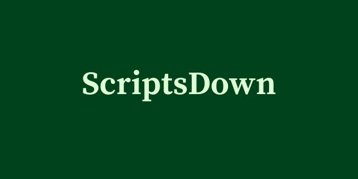 ScriptsDown
