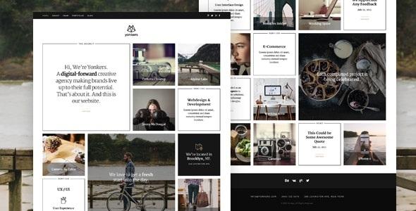 Trendy Portfolio Joomla Template