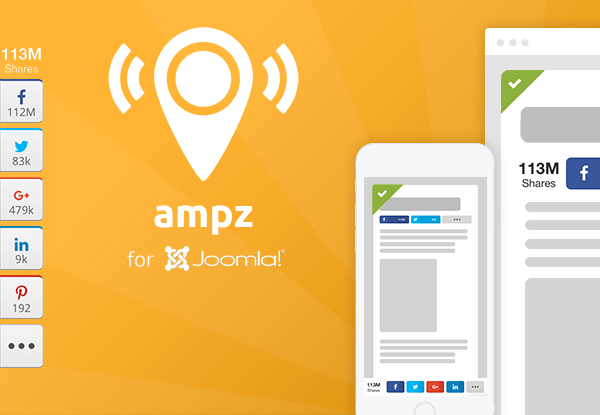 A first look into Ampz for Joomla