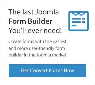Joomla Form Builder - Convert Forms