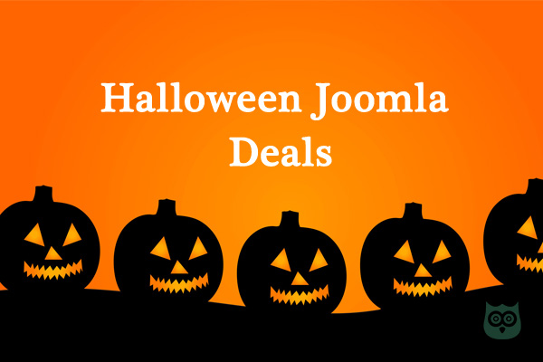 Halloween Joomla Deals 2018  - Save Huge this Holiday Season