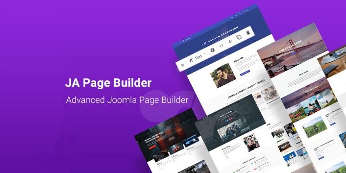 JA Joomla Page Builder