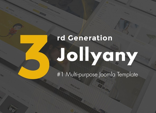 jollyany responsive multipurpose joomla template