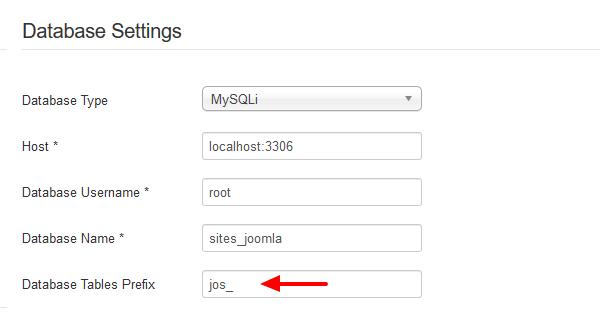 joomla-database-settings