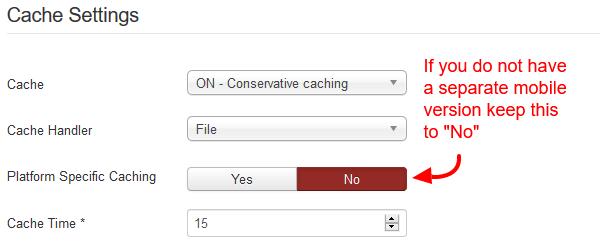 joomla-platform-specific-caching