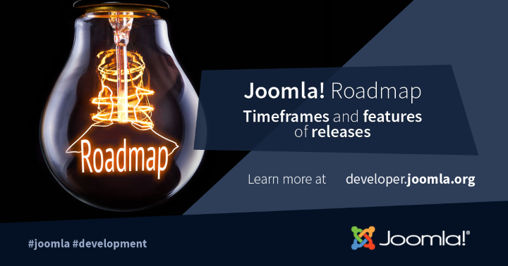 Joomla! Roadmap - Timeframes and release features