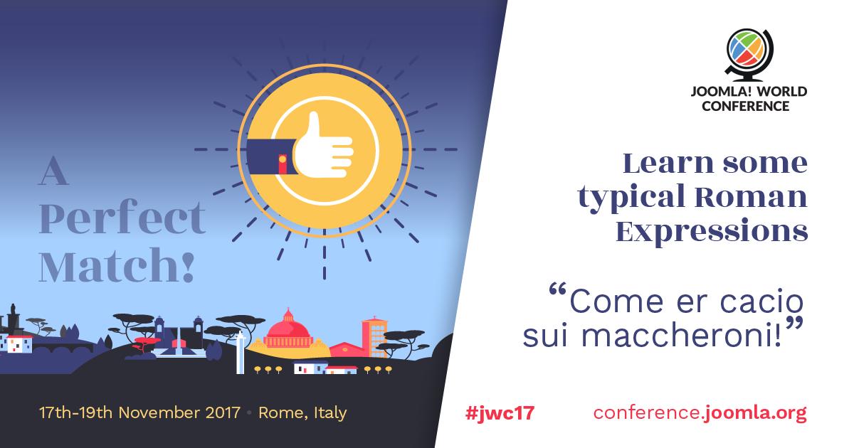 Joomla Rome 2017